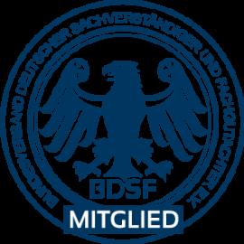 Kfz Sachverständiger Wolfsburg Stempel-Mitglied-BDSF